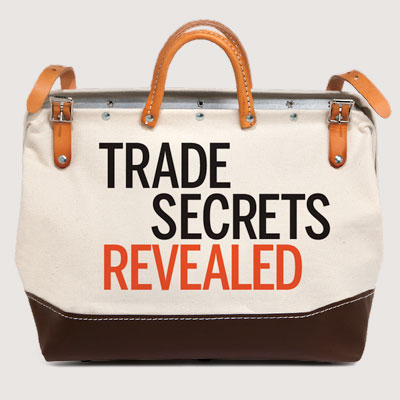 Giving away your Trade Secrets to protect them?