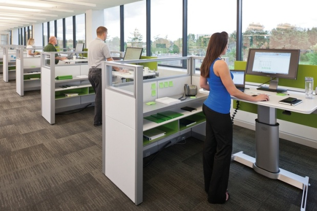 Why Your Office Needs Stand-up Desks