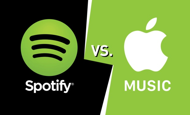 Apple Music versus Spotify